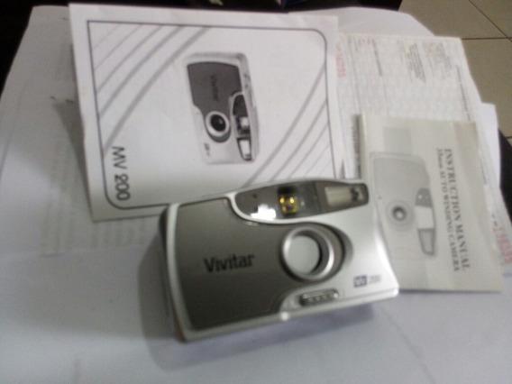 Camera Fotografica Analogica Vivitar Mw 200