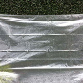 Capa Lona Transparente Cobertura Piscina Translúcida 5x4 Mts