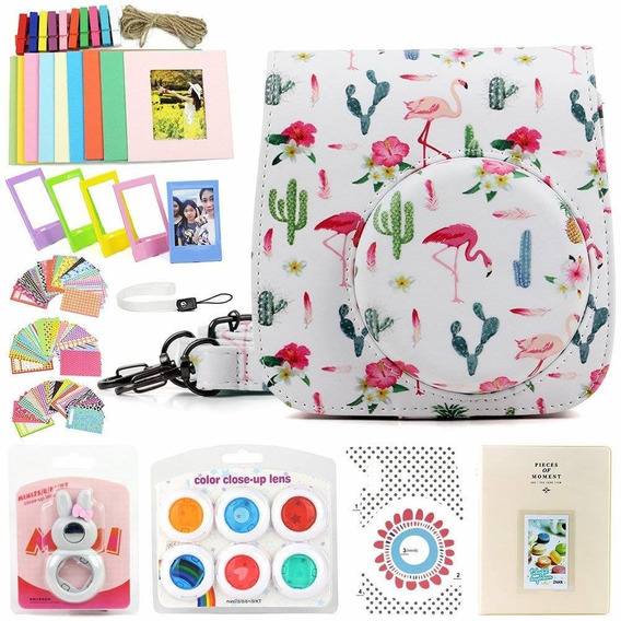 Wogozan 9 In 1 Case Accessories Package For Fujifilm Instax