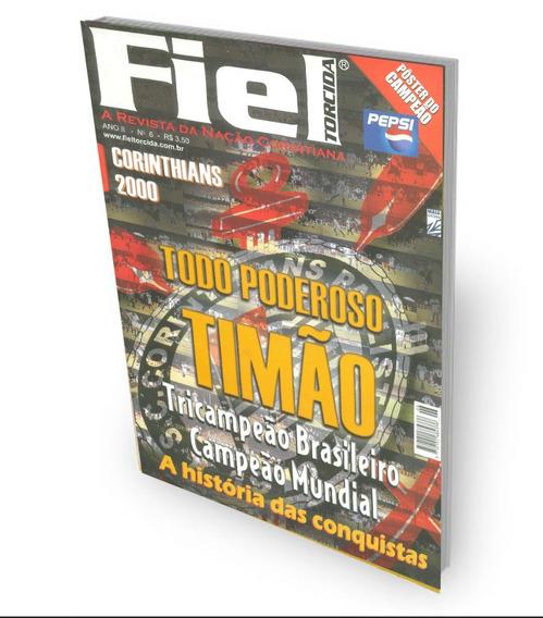 Revista Fiel Torcida Corinthians Campeão Mundial Com Pôster