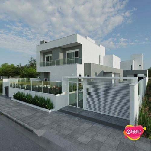 Imagem 1 de 20 de Casa À Venda, 157 M² Por R$ 960.000,00 - Campeche - Florianópolis/sc - Sc - Ca0115_feelin