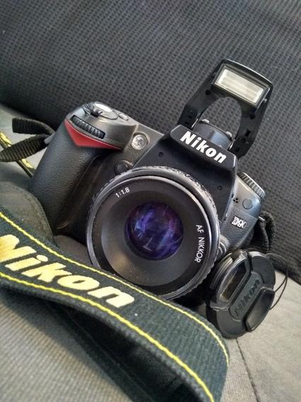Câmera Nikon D90 Com Lente 50mm F/1.8 Manual