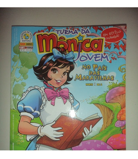 Turma Da Monica Jovem 21 Com Poster Duplo Panini 2010 Excele