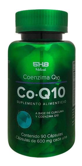 Co-q10 Coenzima 5h8 90 Capsulas Con 600 Mg Cada Una