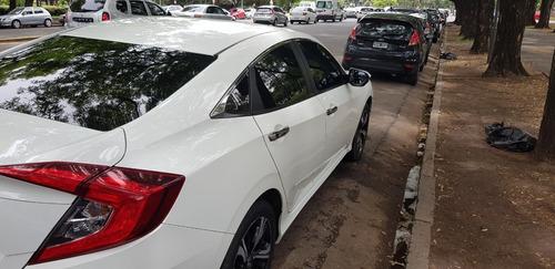 Honda Civic Ex-l 2018  Caja Automatica Color Blanco