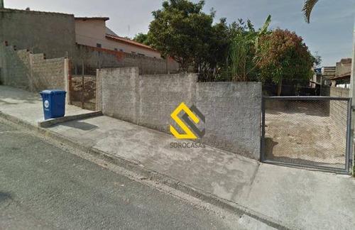Imagem 1 de 1 de Terreno À Venda, 552 M² Por R$ 340.000,00 - Retiro São João - Sorocaba/sp - Te0936