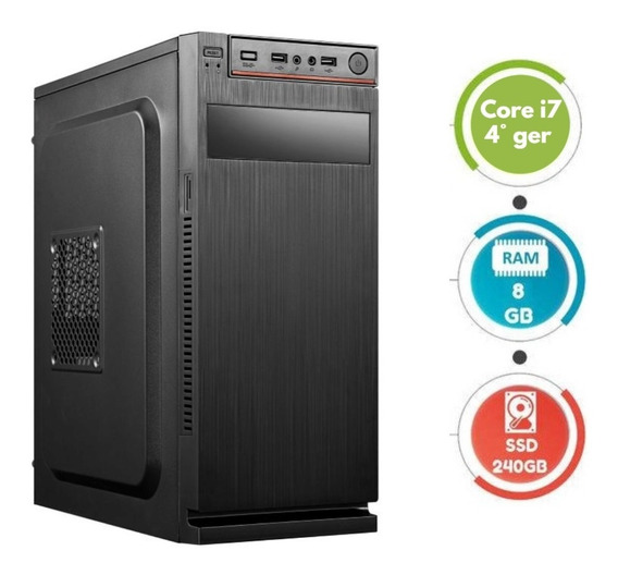 Computador Core I7 Ram 8gb 240gb Wifi Barato