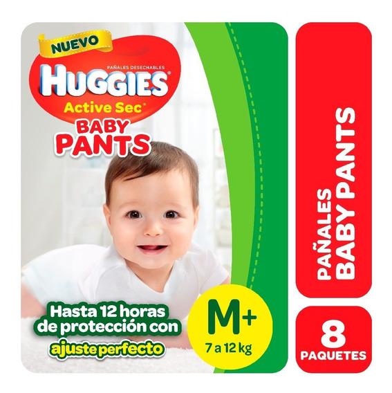 Pañales Huggies Active Sec Baby Pants Maxipack Pack X 8