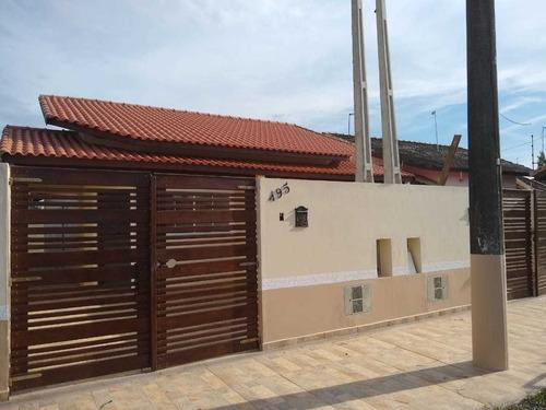 Casa Lado Praia Com 2 Quartos Em Itanhaém/sp Ca064-pc