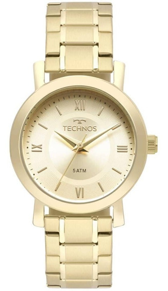 Relógio Technos Feminino Classic Dourado 2035mms/4x