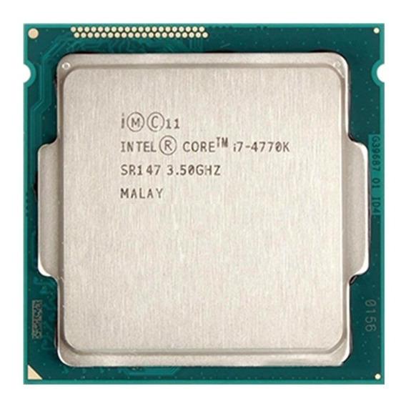 Processador Intel Core I7 4770k 3.9 Ghz + Cooler Heatpipe + Nfe