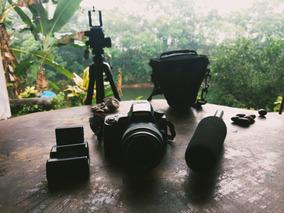 Kit Fotografia E Vídeo - Sony A33 + Tripé + Mic Csr Ht81