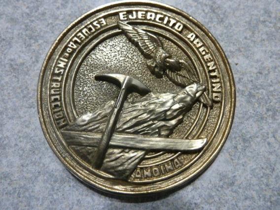 Medalla Ejercito Argentino Escuela De Instrucción Andina