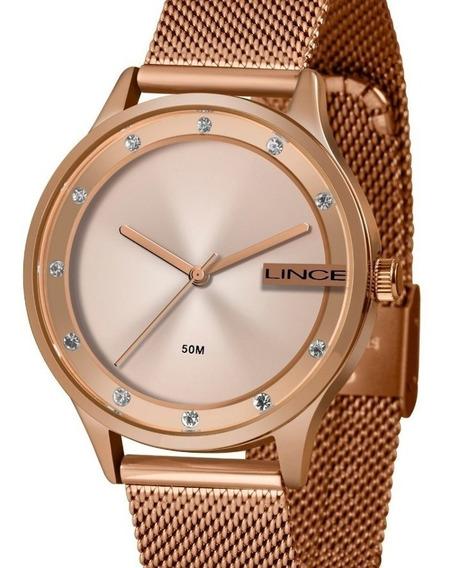 Relógio Lince Feminino Rose Gold Lrr4623l R1rx
