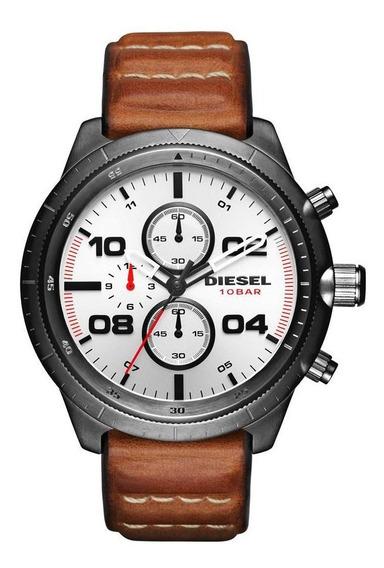 Relógio Diesel Masculino Padlock - Dz4438/0pn