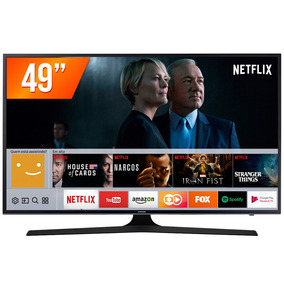 Smart Tv Led 49 Uhd 4k Samsung Mu6100 3 Hdmi 2 Usb Wi-fi