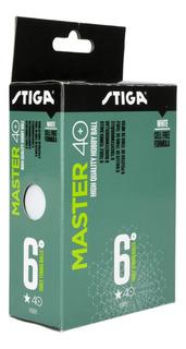 Pelotas Ping Pong Tenis De Mesa X6 Stiga Master 1 Estrella