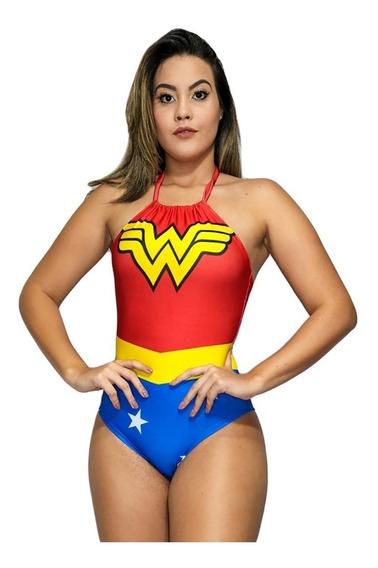 Body Fantasia, Mulher Maravilha,super Girl,batmam, Unicornio