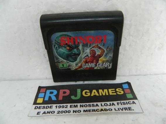 Shinobi Original P/ Game Gear - Loja Centro Rj