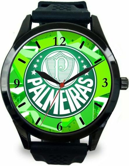 Relógio Pulso Esportivo Palmeiras Personalizado Barato Novo