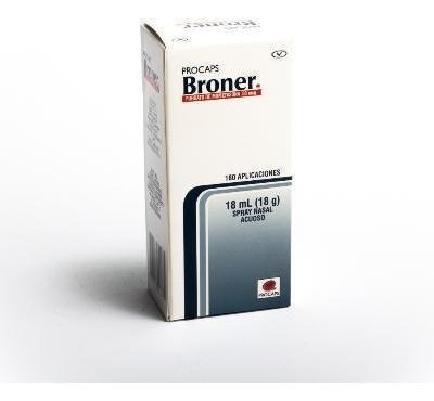 Broner 50mcg Spray Nasal