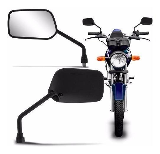 Par Retrovisor Espelho Moto Mod Original Honda Titan Fan 150