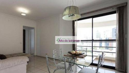 Apartamento Com 2 Dormitórios À Venda, 65 M² Por R$ 742.000,00 - Moema - São Paulo/sp - Ap4817