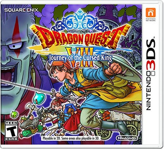 Dragon Quest Viii: Journey Of The Cursed King - Nintendo 3ds