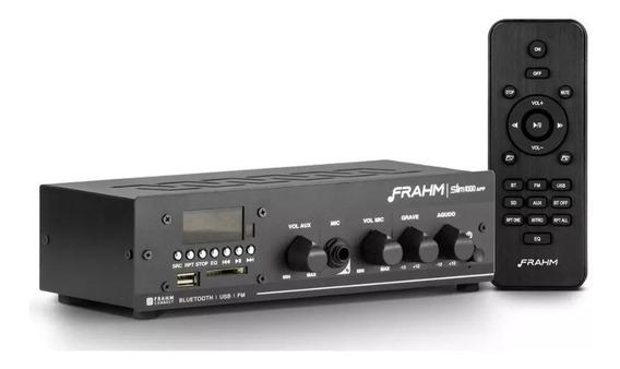Amplificador Som Ambiente Frahm Slim G2 1000 App Bluetooth