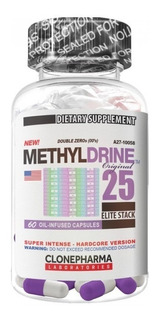 Termogenico Methyldrine (60caps) Clone Pharma - Emagrecedor