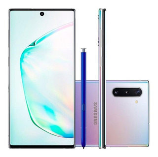 Samsung Note 10 256gb Prata Novo C/ Garantia Black Friday