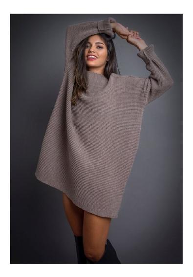 Maxi Sweater/vestido Tejido Roma. Extra Largos!
