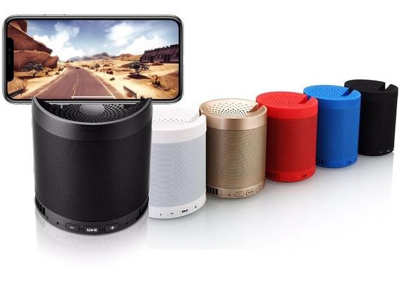 Caixa De Som Portátil Bluetooth Com Suporte Para Celular Xzhang