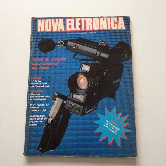 Revista Nova Eletrônica Tubos De Imagem Câmeras A744
