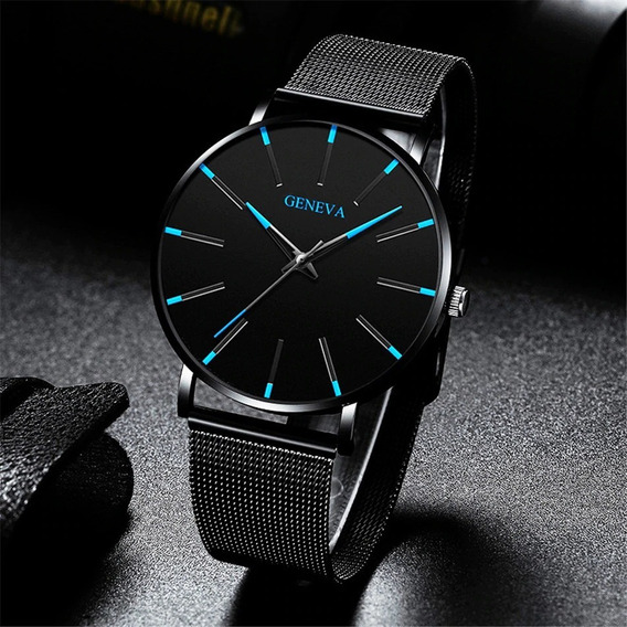 Relógio Geneva Top De Linha Original