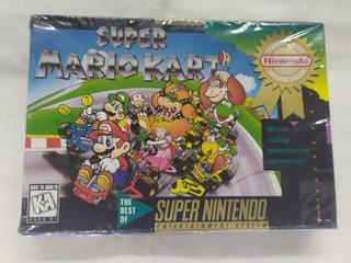Súper Mario Kart Súper Nintendo Caja Sellado C