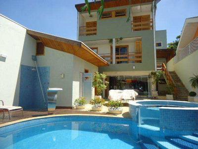 Sobrado Com 4 Dorms, Jardim América, Jacareí - R$ 1.300.000,00, 450m² - Codigo: 6018 - V6018