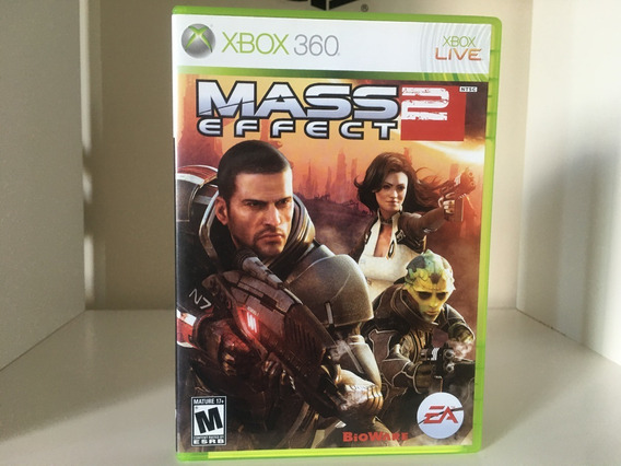 Mass Effect 2 - Xbox 360 - Mídia Física Original