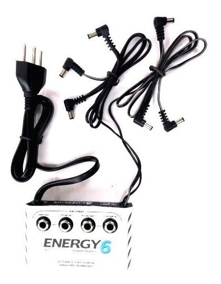 Fonte 6 Pedais Power Supply Landscape E6 Energy 6