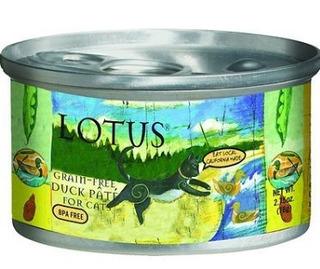 Lotus Gato Grano-libre Pato Y Verduras Paté - 2,75 Oz (24 En