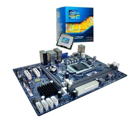 Kit Upgrade Placa Mãe + Processador I5 3470 3.6ghz + 4gb