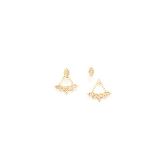 Brinco Ear Jacket Rommanel 526005