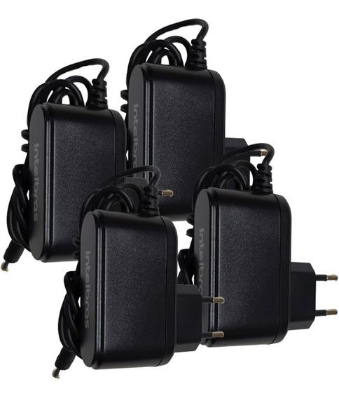Fonte 12,8v 1a Intelbras Para Cameras De Segurança 4 Peças