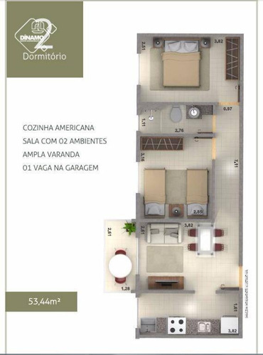 Apartamento À Venda, Residencial E Comercial Palmares, Ribeirão Preto. - Ap1947