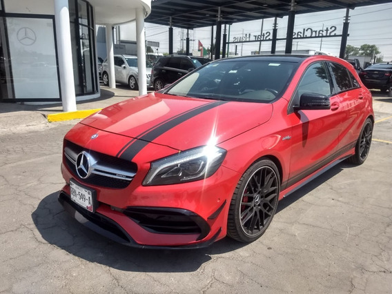 Mercedes Benz A 45 Rojo 2016