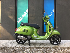 Vespa Gts Super 300 Verde - Motoplex San Isidro