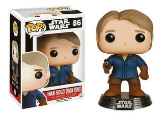 Figura Funko Pop Star Wars Han Solo Snow Gear #86