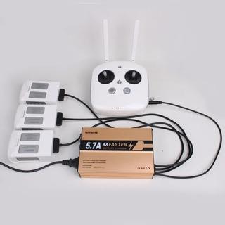 Multicargador Dji Drone Phantom 4, 4 Pro 4 En 1 Multifuncion