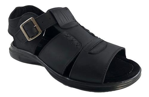 Sandalia Para Hombre 100% Cuero K06