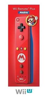 Nintendo Wii Remoto Más Mario - Rojo